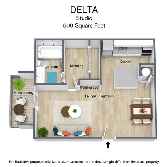 East Bay Floor Plans - Delta
