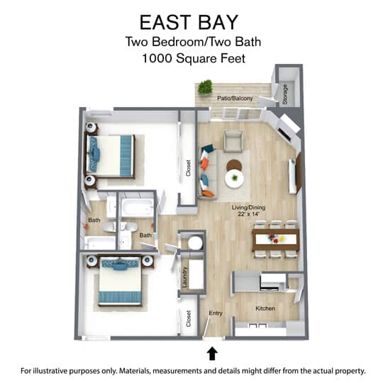 East Bay Floor Plans - Easy Bay